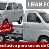 Oferta de utilitarios LIFAN para socios de CAFUCA
