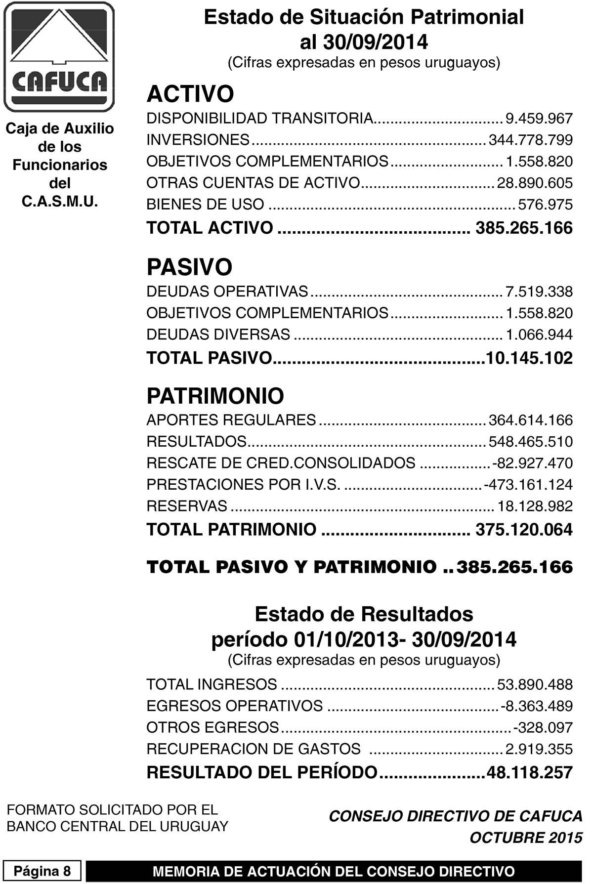 Informe y Memoria 2015.indd