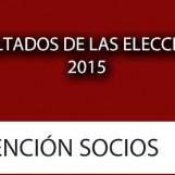 Resultados de las Elecciones 2015