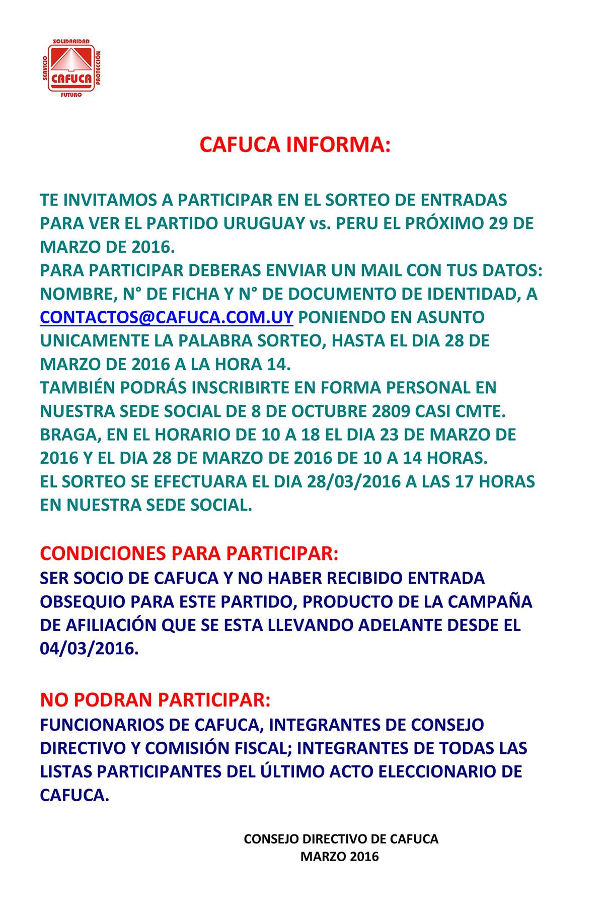 Sorteo-entradas-Uruguay-Peru-marzo-2016