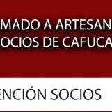 Llamado a Artesanos socios de CAFUCA