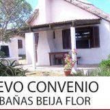 Nuevo Convenio: Cabañas Beija Flor Punta del Diablo