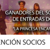 """Ganadores del Sorteo de Entradas para """"La Princesa Encantada"""""""