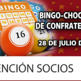 Bingo-Chocolate de Confraternidad